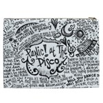 Panic! At The Disco Lyric Quotes Cosmetic Bag (XXL)  Back
