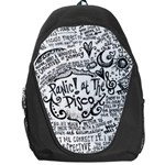 Panic! At The Disco Lyric Quotes Backpack Bag Front