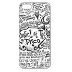 Panic! At The Disco Lyric Quotes Apple Seamless iPhone 5 Case (Clear) Front
