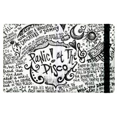 Panic! At The Disco Lyric Quotes Apple iPad 2 Flip Case