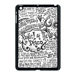 Panic! At The Disco Lyric Quotes Apple iPad Mini Case (Black)