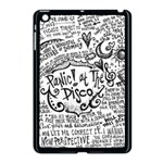 Panic! At The Disco Lyric Quotes Apple iPad Mini Case (Black) Front