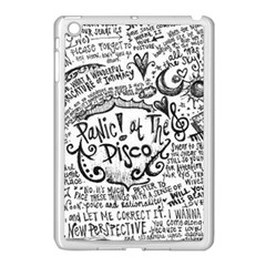 Panic! At The Disco Lyric Quotes Apple iPad Mini Case (White)