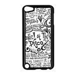 Panic! At The Disco Lyric Quotes Apple iPod Touch 5 Case (Black) Front