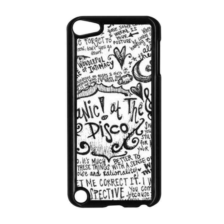 Panic! At The Disco Lyric Quotes Apple iPod Touch 5 Case (Black)
