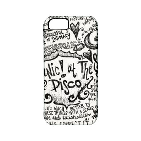 Panic! At The Disco Lyric Quotes Apple iPhone 5 Classic Hardshell Case (PC+Silicone)