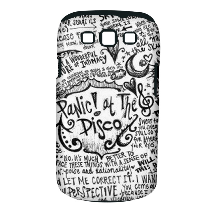Panic! At The Disco Lyric Quotes Samsung Galaxy S III Classic Hardshell Case (PC+Silicone)
