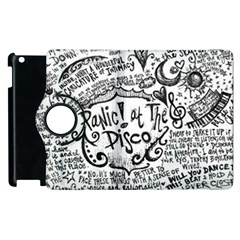 Panic! At The Disco Lyric Quotes Apple iPad 3/4 Flip 360 Case