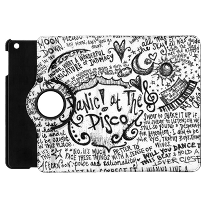 Panic! At The Disco Lyric Quotes Apple iPad Mini Flip 360 Case