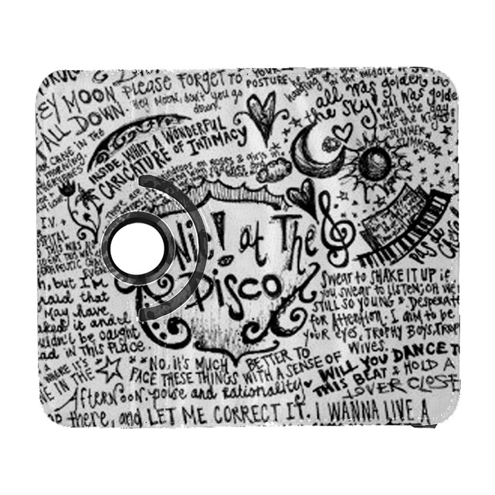 Panic! At The Disco Lyric Quotes Samsung Galaxy S  III Flip 360 Case