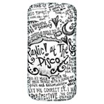 Panic! At The Disco Lyric Quotes Samsung Galaxy S3 S III Classic Hardshell Back Case Front