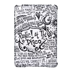 Panic! At The Disco Lyric Quotes Apple iPad Mini Hardshell Case (Compatible with Smart Cover)