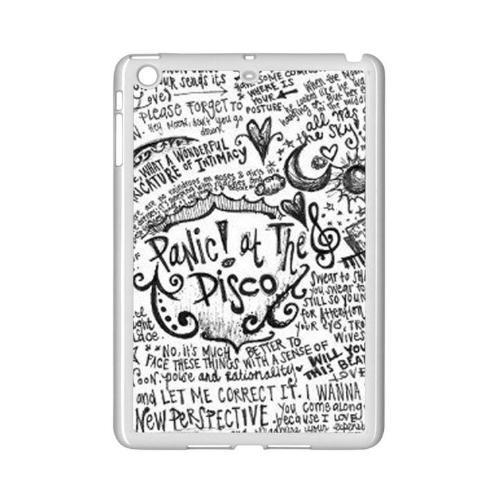 Panic! At The Disco Lyric Quotes iPad Mini 2 Enamel Coated Cases