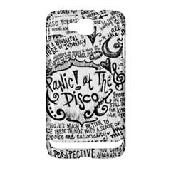 Panic! At The Disco Lyric Quotes Samsung Ativ S i8750 Hardshell Case
