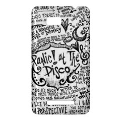 Panic! At The Disco Lyric Quotes HTC One SU T528W Hardshell Case