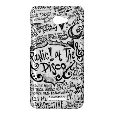 Panic! At The Disco Lyric Quotes HTC Butterfly X920E Hardshell Case