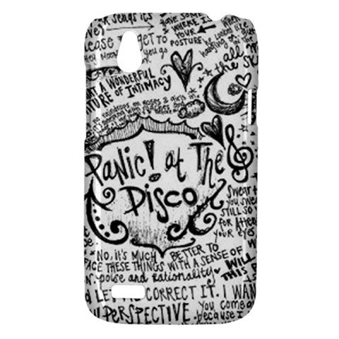 Panic! At The Disco Lyric Quotes HTC Desire V (T328W) Hardshell Case