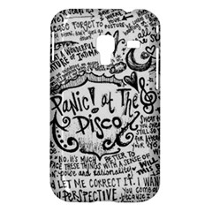 Panic! At The Disco Lyric Quotes Samsung Galaxy Ace Plus S7500 Hardshell Case