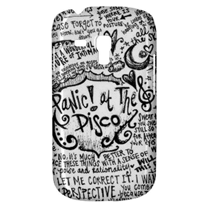Panic! At The Disco Lyric Quotes Samsung Galaxy S3 MINI I8190 Hardshell Case