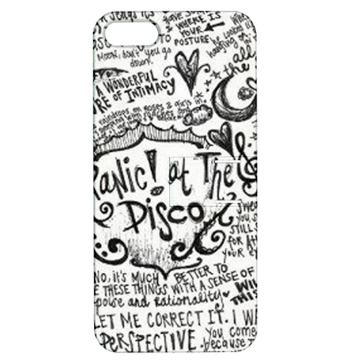 Panic! At The Disco Lyric Quotes Apple iPhone 5 Hardshell Case with Stand