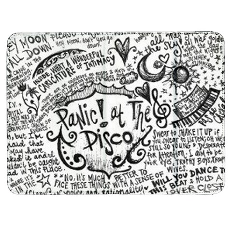 Panic! At The Disco Lyric Quotes Samsung Galaxy Tab 7  P1000 Flip Case
