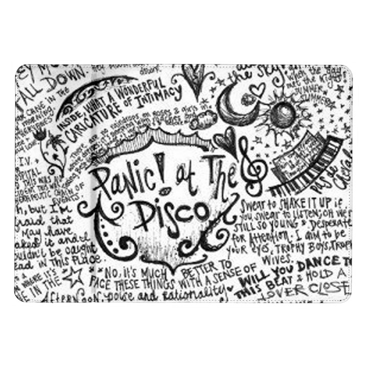 Panic! At The Disco Lyric Quotes Samsung Galaxy Tab 10.1  P7500 Flip Case
