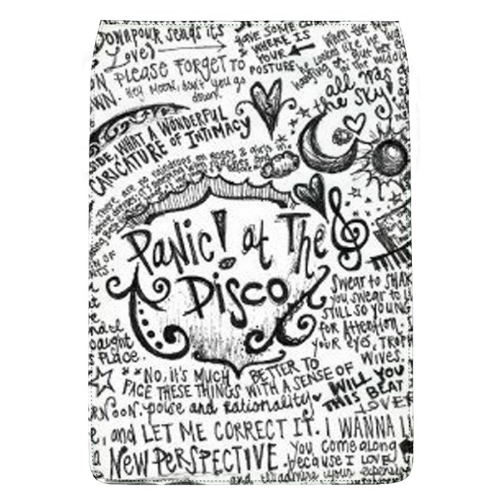 Panic! At The Disco Lyric Quotes Flap Covers (L)