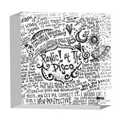Panic! At The Disco Lyric Quotes 5  x 5  Acrylic Photo Blocks