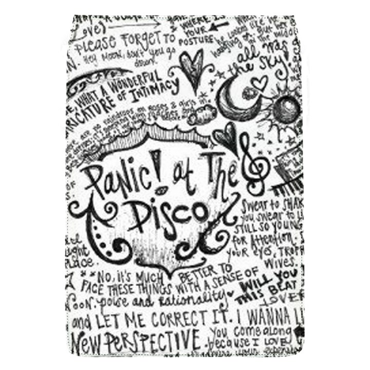 Panic! At The Disco Lyric Quotes Flap Covers (S)
