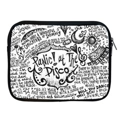 Panic! At The Disco Lyric Quotes Apple Ipad 2/3/4 Zipper Cases