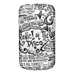 Panic! At The Disco Lyric Quotes Samsung Galaxy Express I8730 Hardshell Case