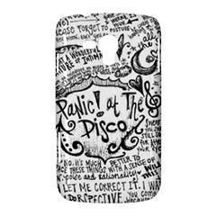 Panic! At The Disco Lyric Quotes Samsung Galaxy Duos I8262 Hardshell Case