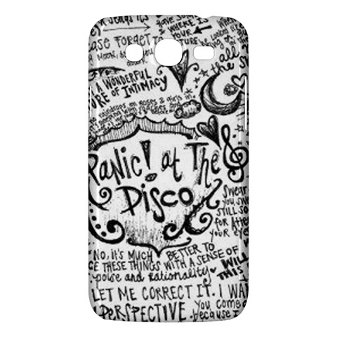Panic! At The Disco Lyric Quotes Samsung Galaxy Mega 5.8 I9152 Hardshell Case