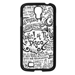 Panic! At The Disco Lyric Quotes Samsung Galaxy S4 I9500/ I9505 Case (Black) Front