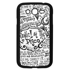 Panic! At The Disco Lyric Quotes Samsung Galaxy Grand DUOS I9082 Case (Black)