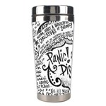 Panic! At The Disco Lyric Quotes Stainless Steel Travel Tumblers Left