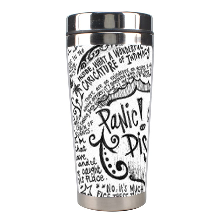 Panic! At The Disco Lyric Quotes Stainless Steel Travel Tumblers