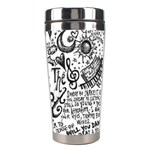 Panic! At The Disco Lyric Quotes Stainless Steel Travel Tumblers Right