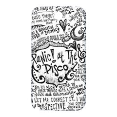 Panic! At The Disco Lyric Quotes Samsung Note 2 N7100 Hardshell Back Case