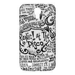 Panic! At The Disco Lyric Quotes Samsung Galaxy Mega 6 3  I9200 Hardshell Case