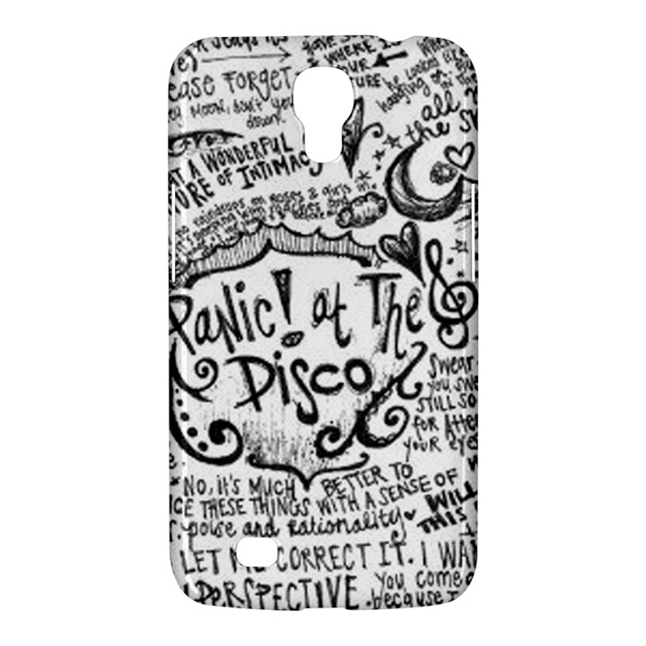 Panic! At The Disco Lyric Quotes Samsung Galaxy Mega 6.3  I9200 Hardshell Case