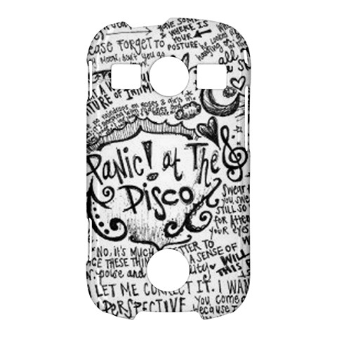 Panic! At The Disco Lyric Quotes Samsung Galaxy S7710 Xcover 2 Hardshell Case