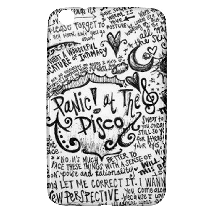 Panic! At The Disco Lyric Quotes Samsung Galaxy Tab 3 (8 ) T3100 Hardshell Case