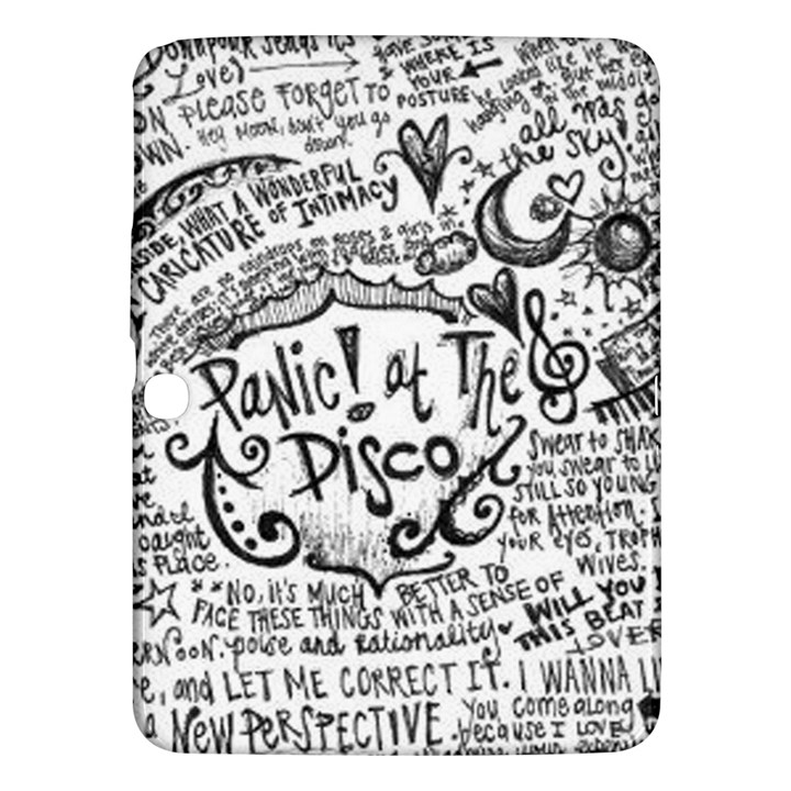 Panic! At The Disco Lyric Quotes Samsung Galaxy Tab 3 (10.1 ) P5200 Hardshell Case