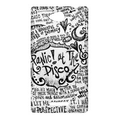 Panic! At The Disco Lyric Quotes Sony Xperia C (S39H)