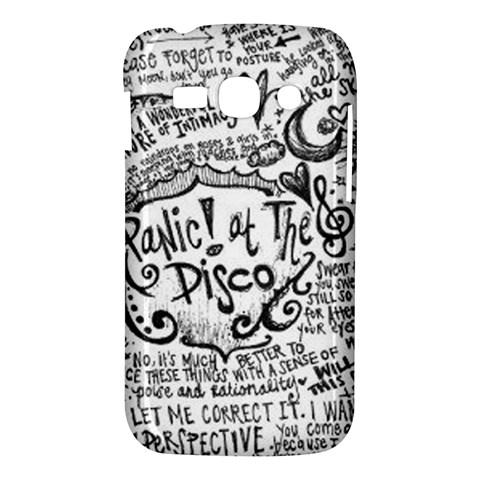 Panic! At The Disco Lyric Quotes Samsung Galaxy Ace 3 S7272 Hardshell Case