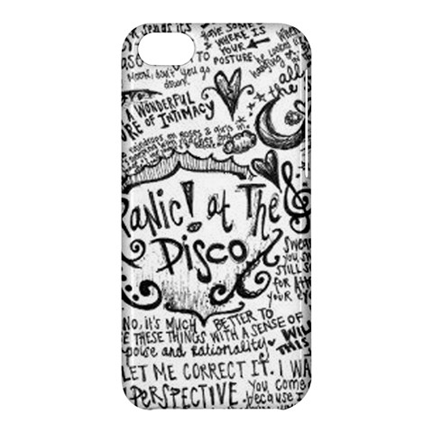 Panic! At The Disco Lyric Quotes Apple iPhone 5C Hardshell Case