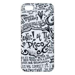 Panic! At The Disco Lyric Quotes iPhone 5S/ SE Premium Hardshell Case