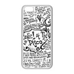 Panic! At The Disco Lyric Quotes Apple iPhone 5C Seamless Case (White) Front