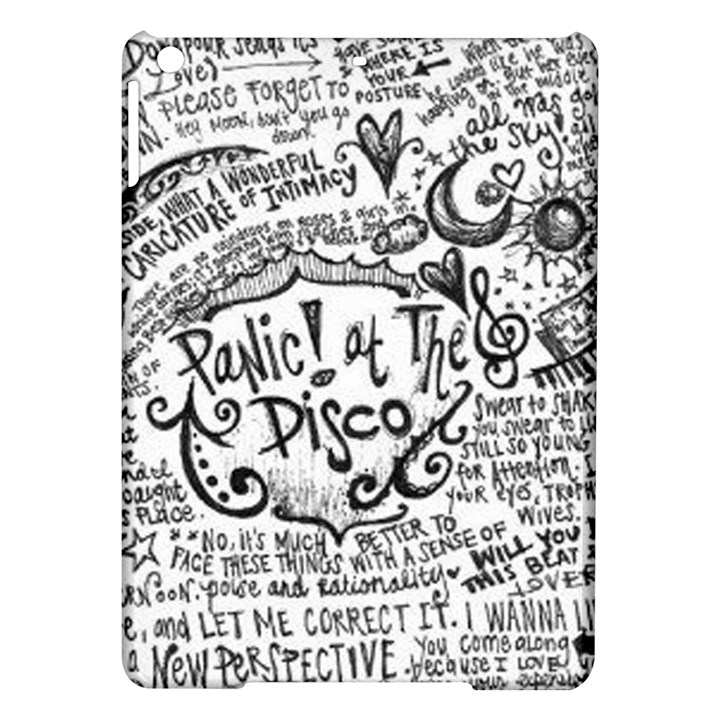 Panic! At The Disco Lyric Quotes iPad Air Hardshell Cases